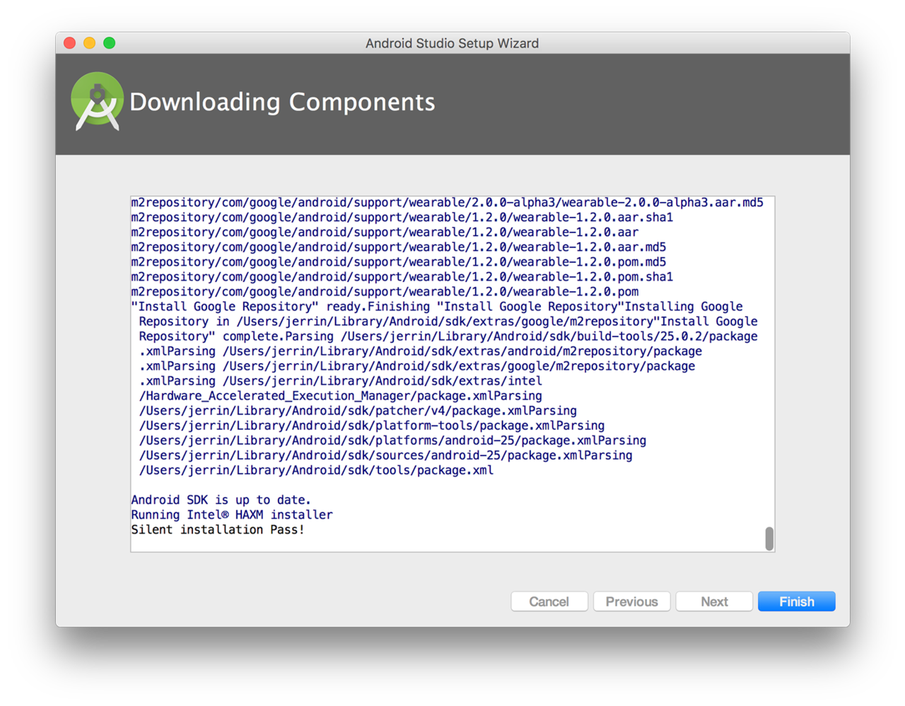 更新下载 Android Studio 组件