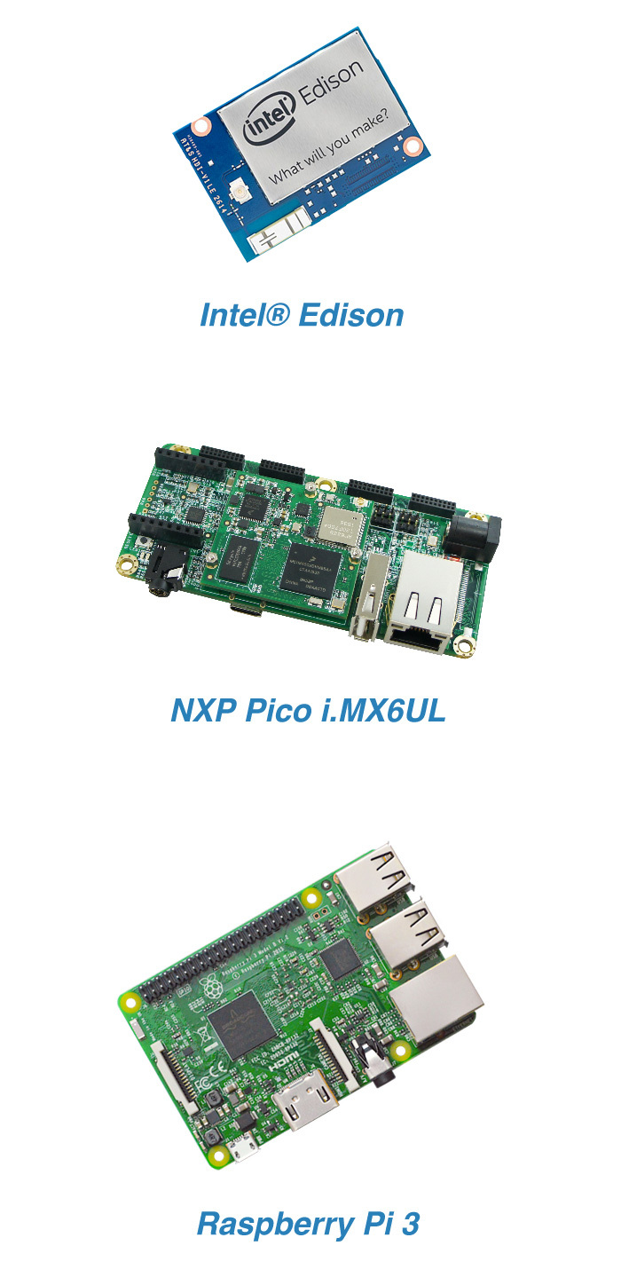 Android Things 支持的硬件