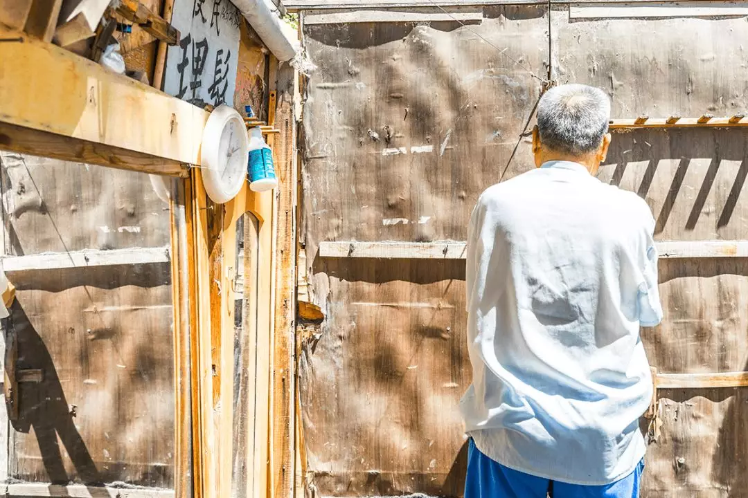 韩师傅回首工作十年的旧店铺