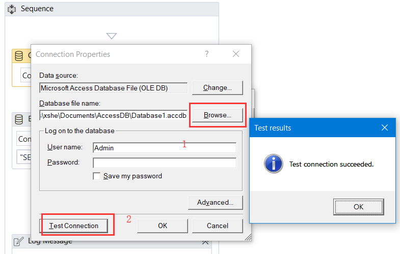 Uipath Connect To Mysql
