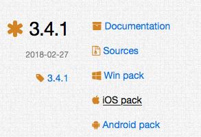 iOS pack