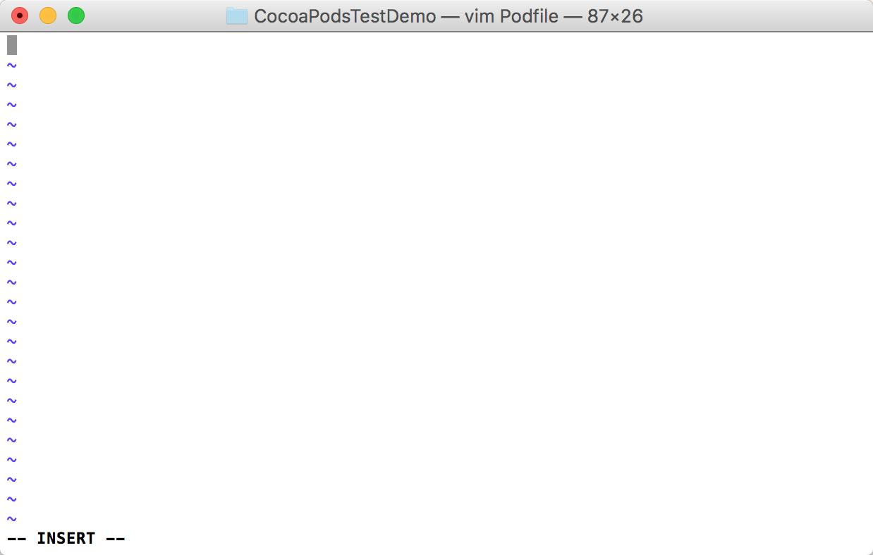 Podfile 配置文件编辑模式 .png