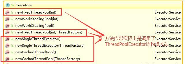 通过 Executor 框架的工具类 Executors 来实现