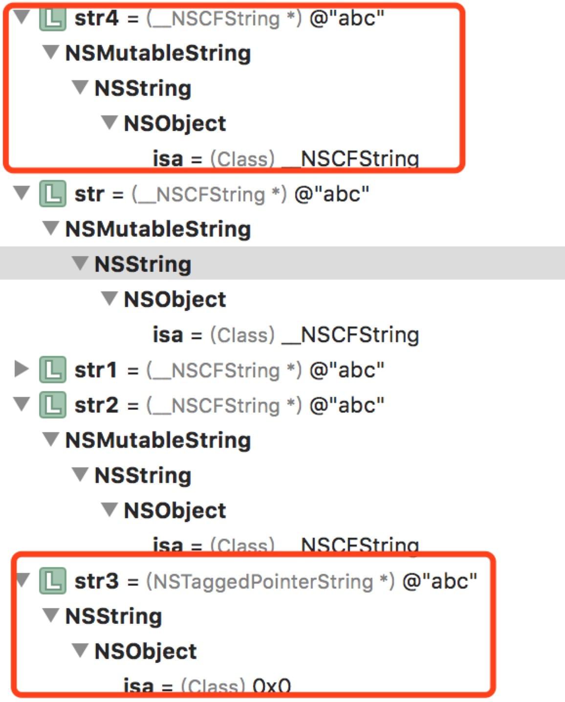 NSMutableString变量状态