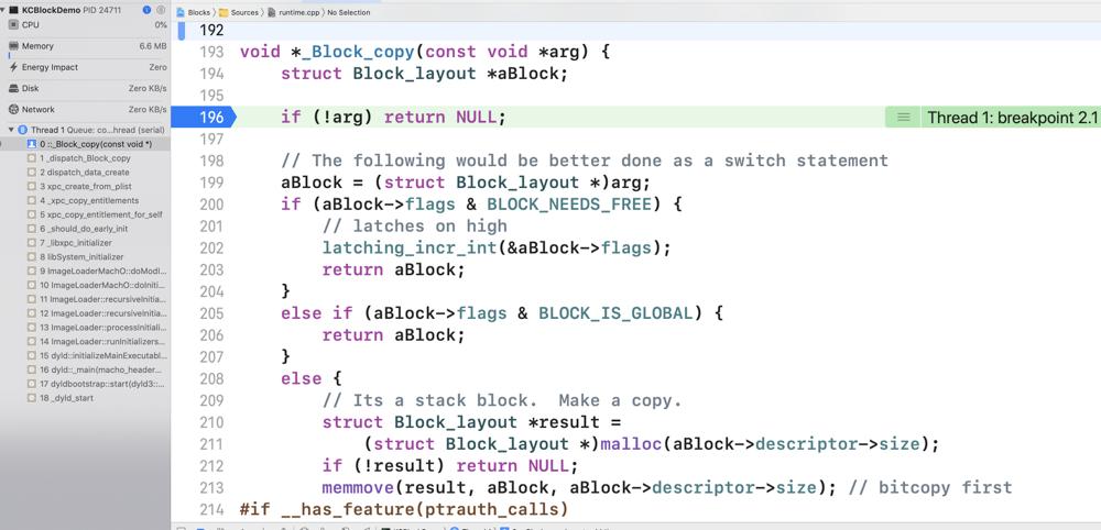 最新libclosure-74编译调试-玩转Block源码