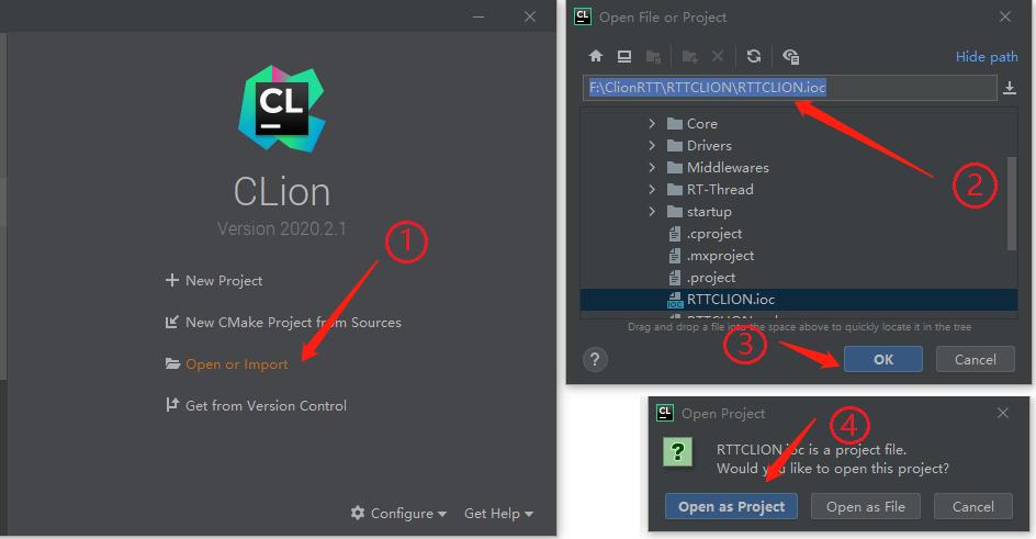 使用 Clion 移植 RT-Thread 嵌入式操作系统