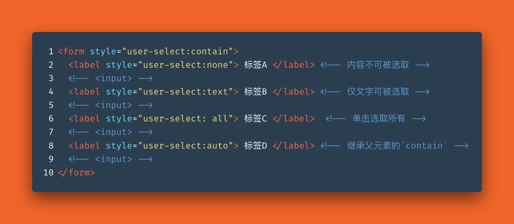CSS — 更灵活的保护🔐网页📄内容