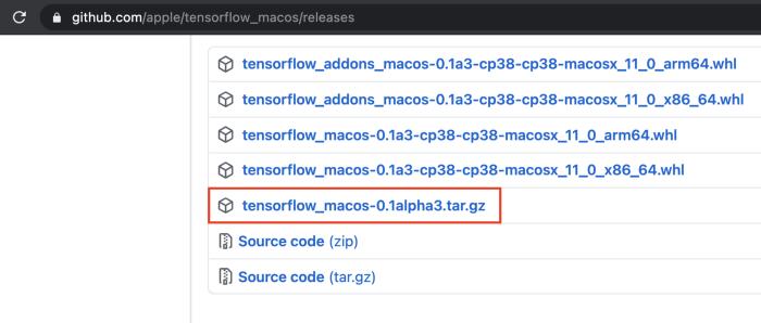 Mac M1 机器学习环境 (TensorFlow, JupyterLab, VSCode)