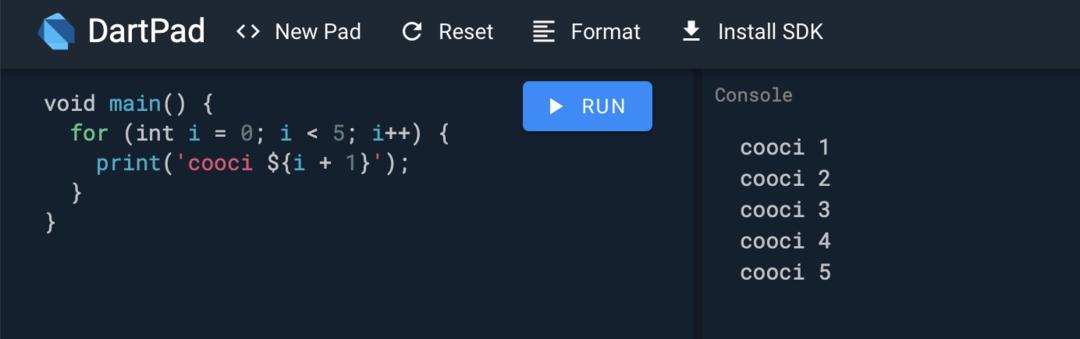 Flutter-从入门到项目 04:Dart语法快速掌握(上)