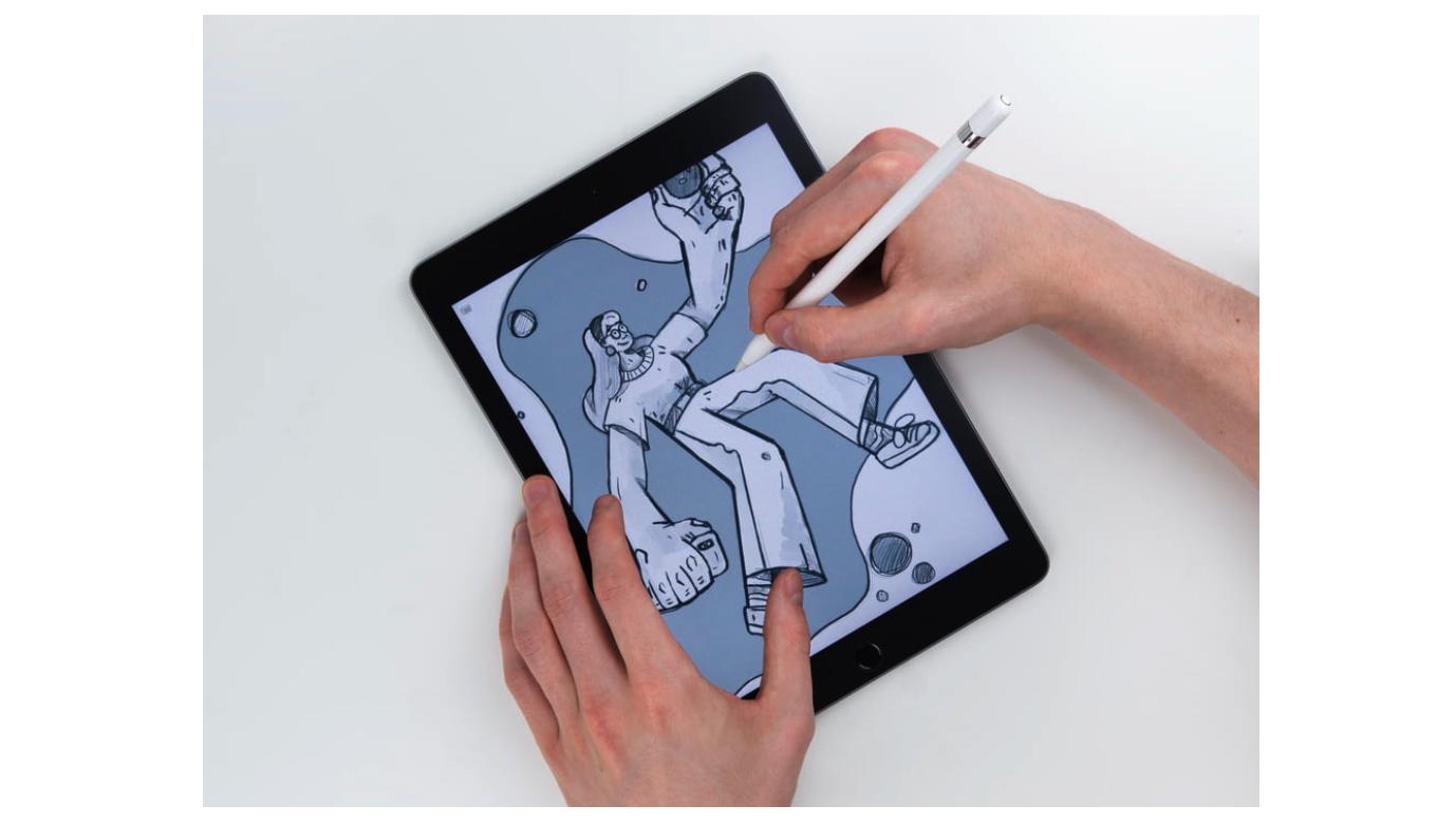 图片来自 Unsplash,如图用户通过 Canvas 手绘了不规则图形