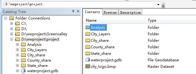 009 一个空间分析项目02:数据组织