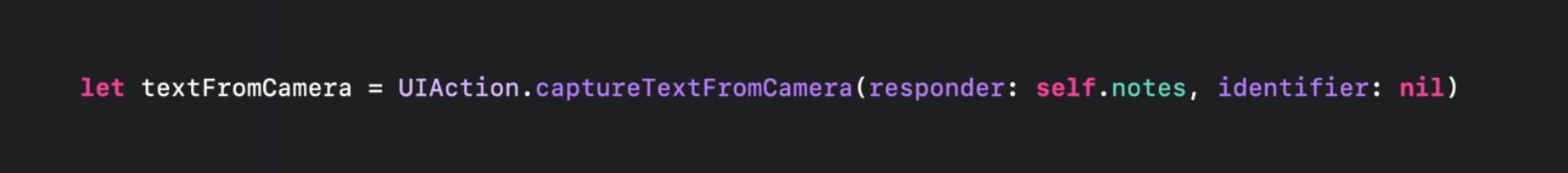 【WWDC21 10276】使用相机进行键盘输入
