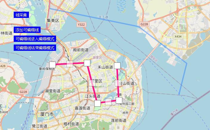 leaflet线采集与线编辑(leaflet篇.6)
