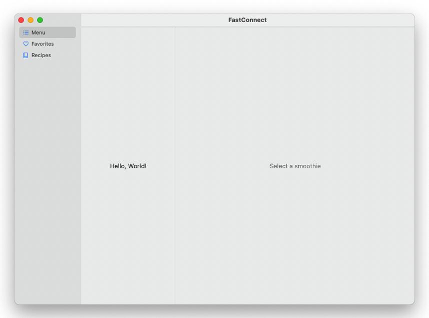 SwiftUI iPhone 、iPad 、Mac 适配 UI,iPhone 用tabbar ,iPadOS 和 macOS 用sidebar 两栏或三栏布局
