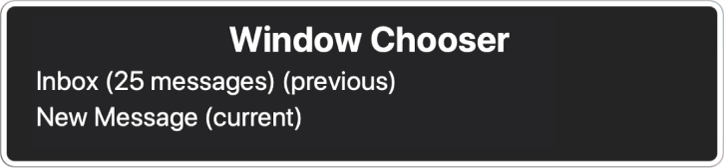 command + ~无法切换到floating window