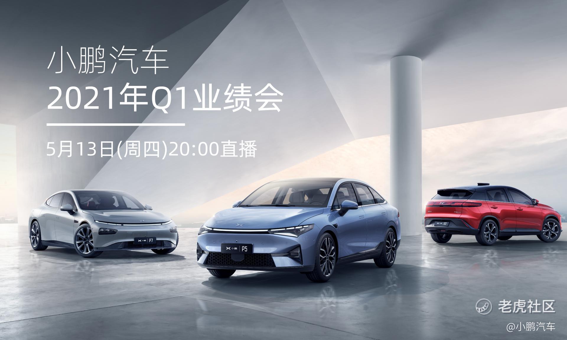 小鹏汽车Q1营收29.51亿元 较去年同期增长六倍